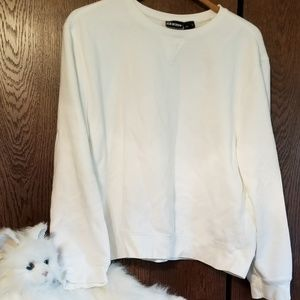 Joe Boxer white sweatshirt